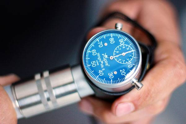 Ventilômetro Wright Mark 8